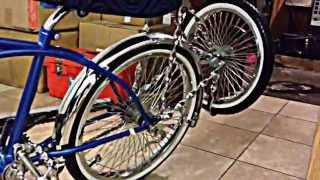 My Lowrider Bike With Lights