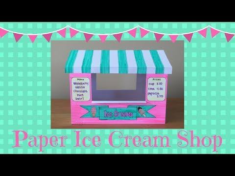 Paper Ice Cream Shop