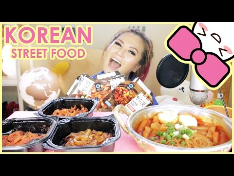 INSTANT KOREAN STREET FOOD | MUKBANG [먹방] | CONFESSIONS