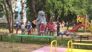 Ростовая кукла на детском празднике