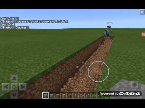 Cara mendownload mod robot pembantu di minecraft pe