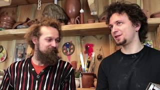 🍯 Светящийся в темноте горшок Разговор про люминофоры Обучение гончарству Волшебство керамики