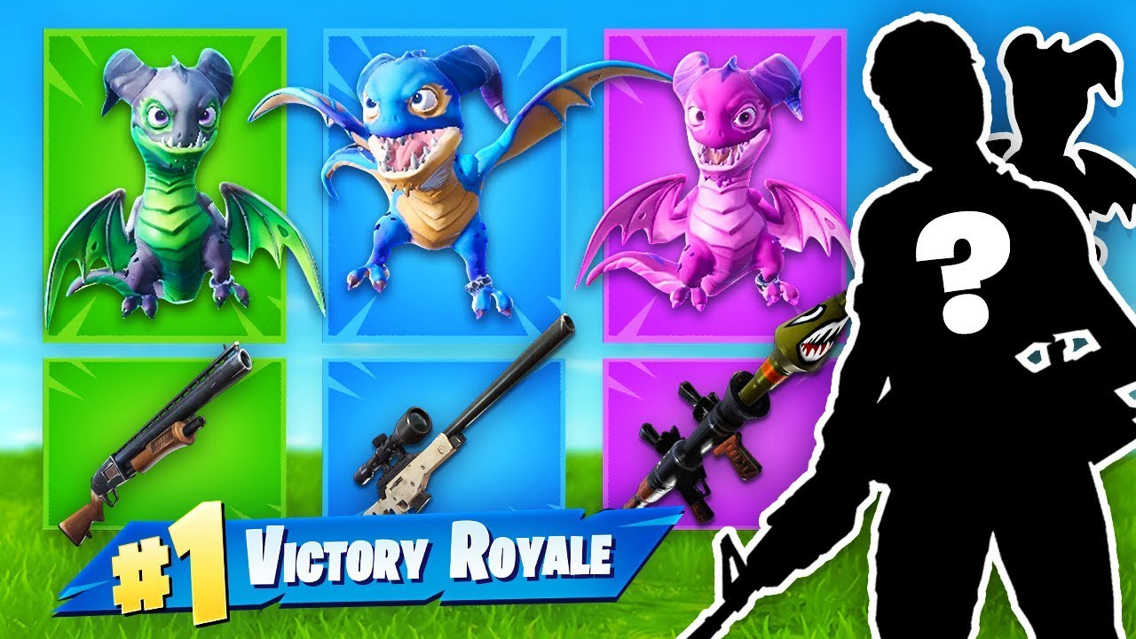 The *RANDOM* DRAGON Challenge in Fortnite Battle Royale