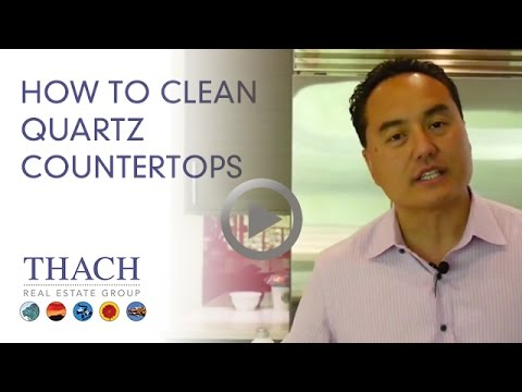 How To Clean Quartz Counter Tops   Ask Thach 206 334 8773