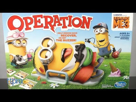 Despicable Me 3 Operation Game from Hasbro