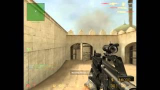 Играем в Counter Strike source modern warfare 3