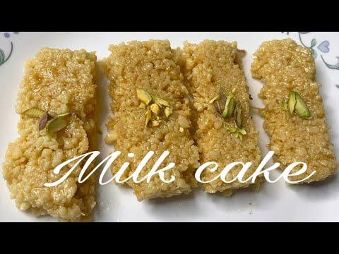 MILK CAKE WITH