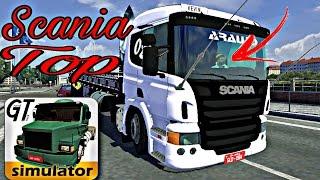 GRAND TRUCK SIMULATOR SKIN TOP PARA SCANIA R360