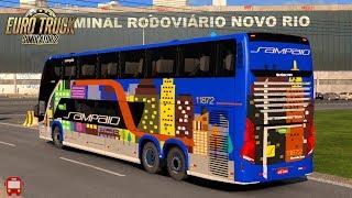 VIAGENS REAIS #33 - D/ SÃO JOSÉ DOS CAMPOS - P/ RIO DE JANEIRO - PARTE 2 - MAPA RBR 4.3