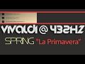 SPRING I PRIMAVERA ? VIVALDI 432Hz ? [Classical Music @ 432Hz ]