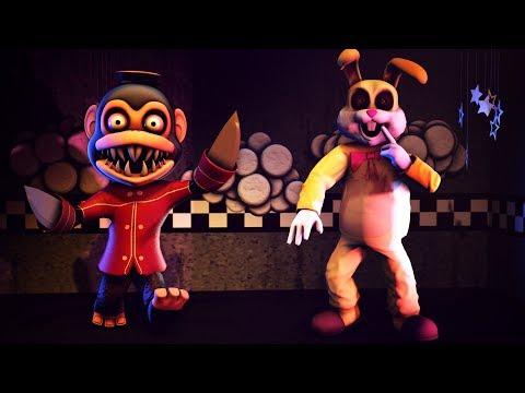 [SFM DARK DECEPTION/FNAF] DARK DECEPTION ANIMATRONIC UPDATE VS Freddy Short animation