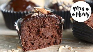 Gesunde Schoko Muffins | ohne Zucker, ohne Mehl backen mit Mrs Flury