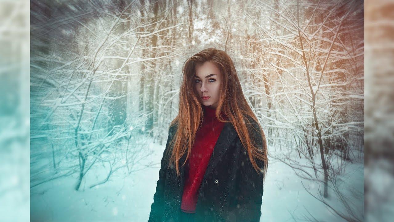 где художественная обработка зимней фотографии это так