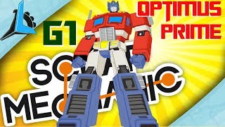 Best Transformer Ever- G1 Optimus Prime Scrap Mechanic (Showcase)