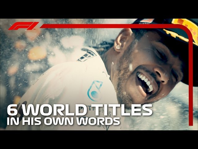 Lewis Hamilton's Six World Championships - Words From A Champion