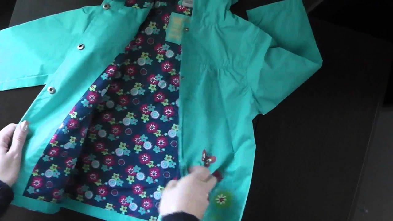 Детское пальто для девочки - YouTube