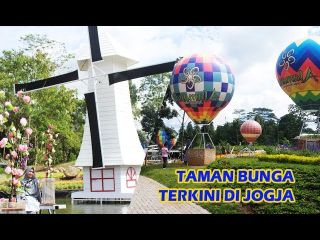 Wisata Jogja Terbaru Alamanda Jogja Flower Garden Turi Sleman Youtube