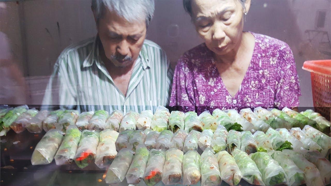 Xe bò bía rẻ nhất Sài Gòn chỉ hơn 1k của hai ông bà lão lớn tuổi | street food of saigon