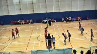 2012全港學界精英賽vs迦密愛禮信 Set 1