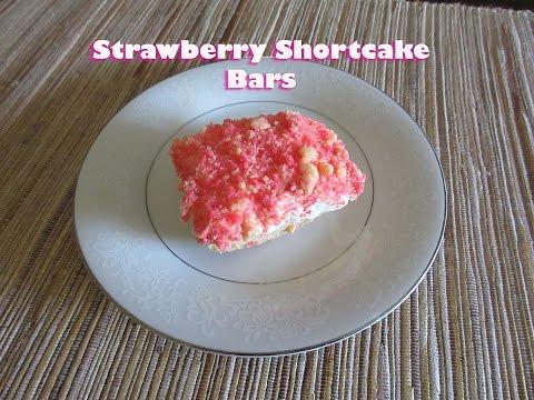 Strawberry Shortcake Dessert Bar Recipe