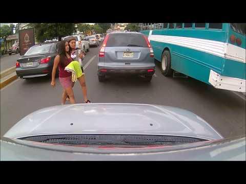 Driving downtown - Santiago De Los Caballeros - Dominican Republic - part 3