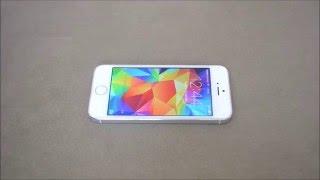 Как наклеить защитное стекло на iPhone 5, 5s(, 2016-04-23T22:17:57.000Z)