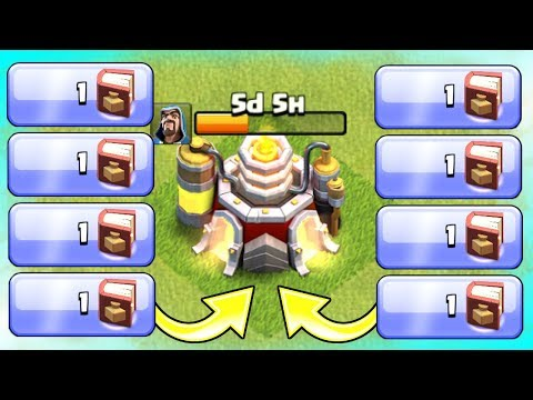 7 LAB UPGRADES IN 1 MINUTE!!! HOW!? - Clash Of Clans