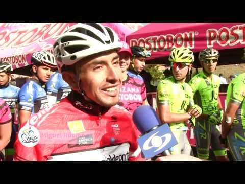 Laverde y Rubiano: ganadores de etapa en Grandes Vueltas que corren la Vuelta a Colombia