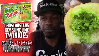 Ghostbusters Key Lime Slime Twinkies and Hi-C Ecto Cooler