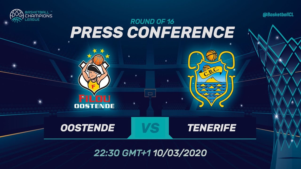 Filou Oostende v Iberostar Tenerife - PC - RD 16 - Basketball Champions League 2019