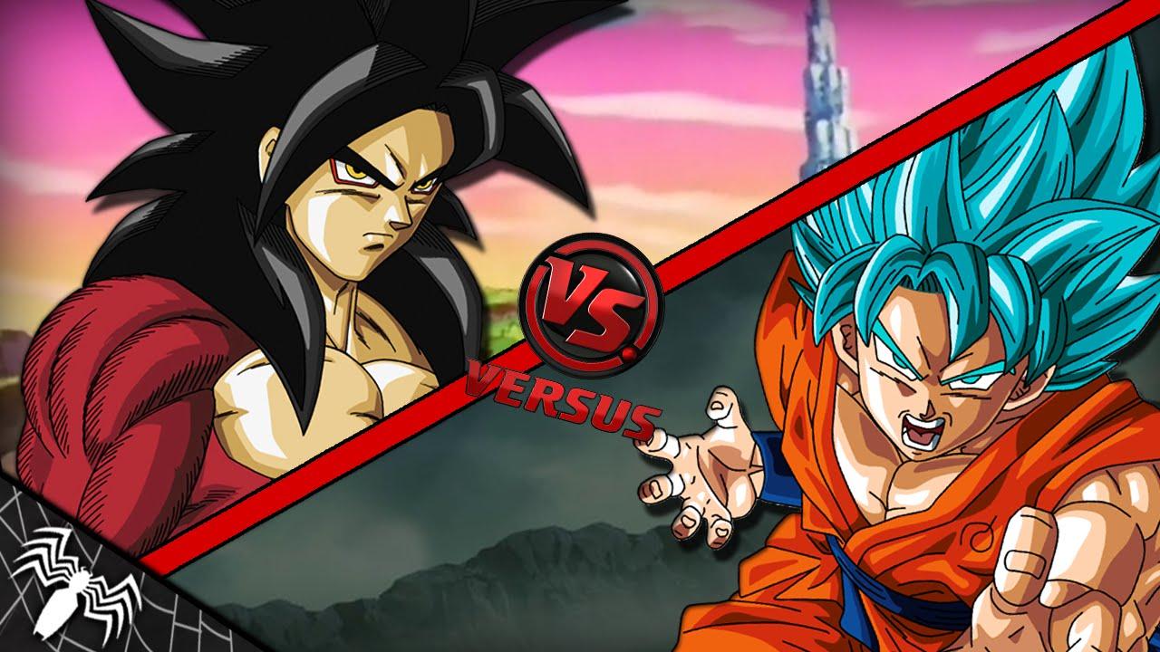 Goku Ssj4 Vs Goku Ssj3: Goku SSJ4 Vs Goku SSJ Blue. ¿Quien Gana?