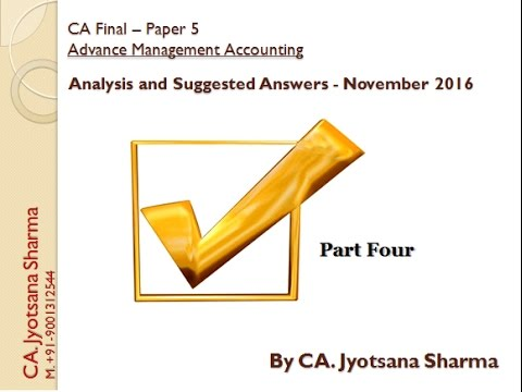 final paper on managerial accounting Start studying accounting final exam study guide a planned process for providing financial information that will be useful to management or other paper.