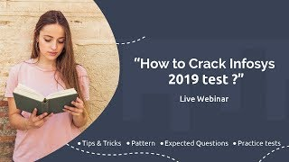 How To Crack Infosys 2019 Test ?