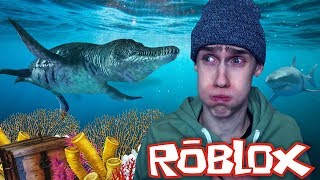 THE FIRST UNDERWATER DINO!! (Roblox Dino Zoo)