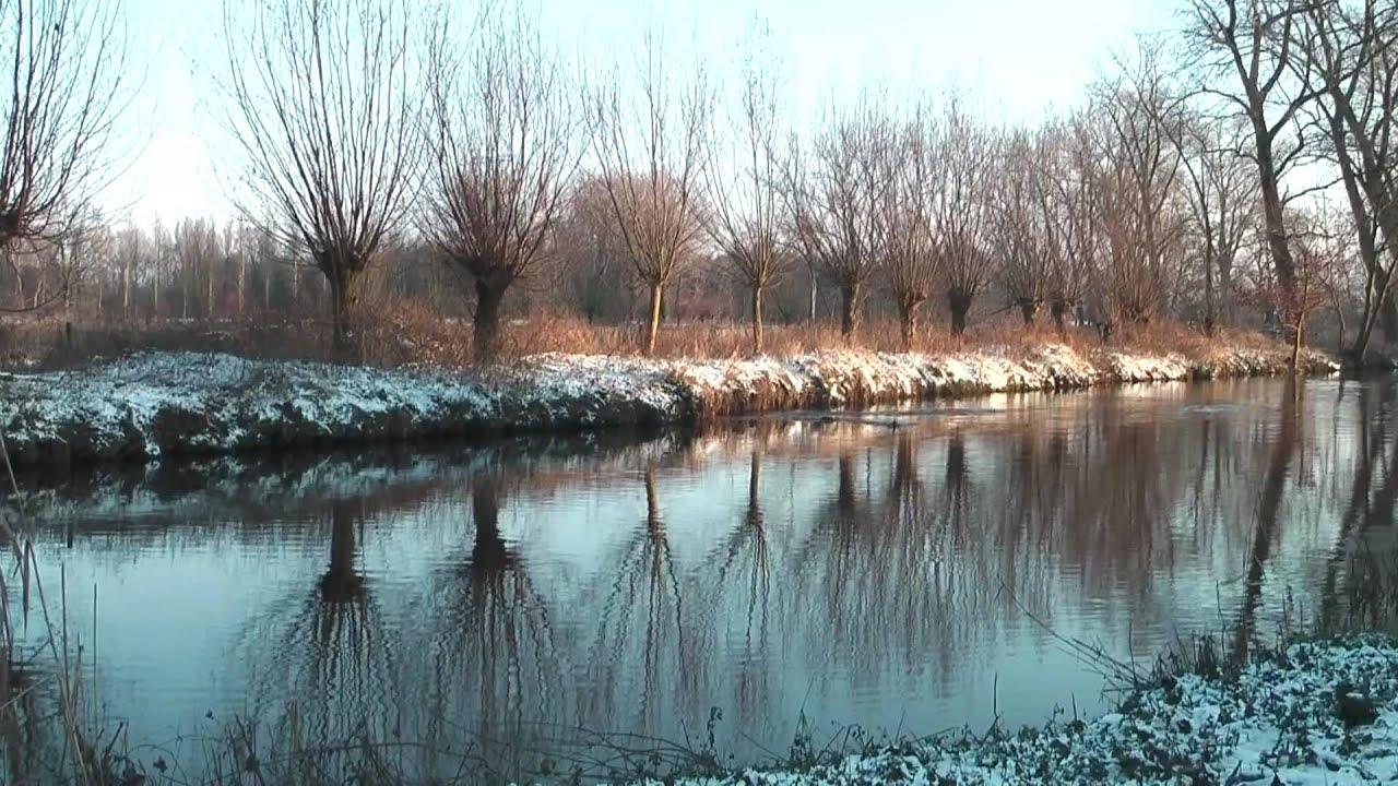 winter at the dommel river eindhoven netherlands youtube. Black Bedroom Furniture Sets. Home Design Ideas