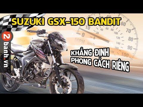 Suzuki GSX150 Bandit - Đánh giá cận cảnh thực tế ở Việt Nam