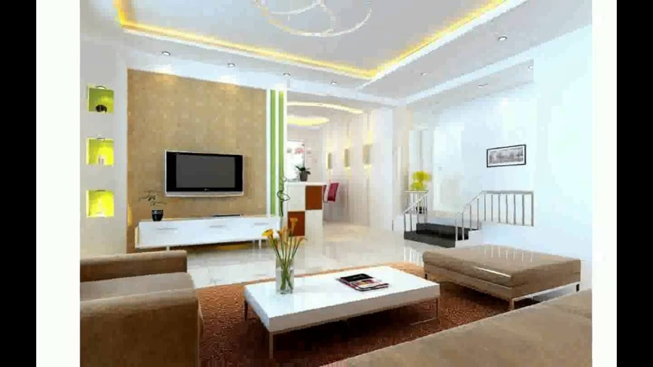 Salon sejour moderne youtube Model dedecoration desalon moderne