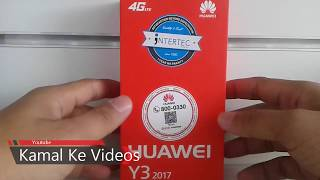Huawei Y3 2017 new model unboxing review