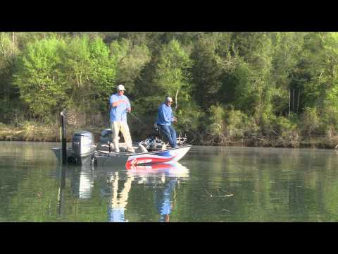 G3 Sportsman TV - White Bass Fishing on the White RIver, AR