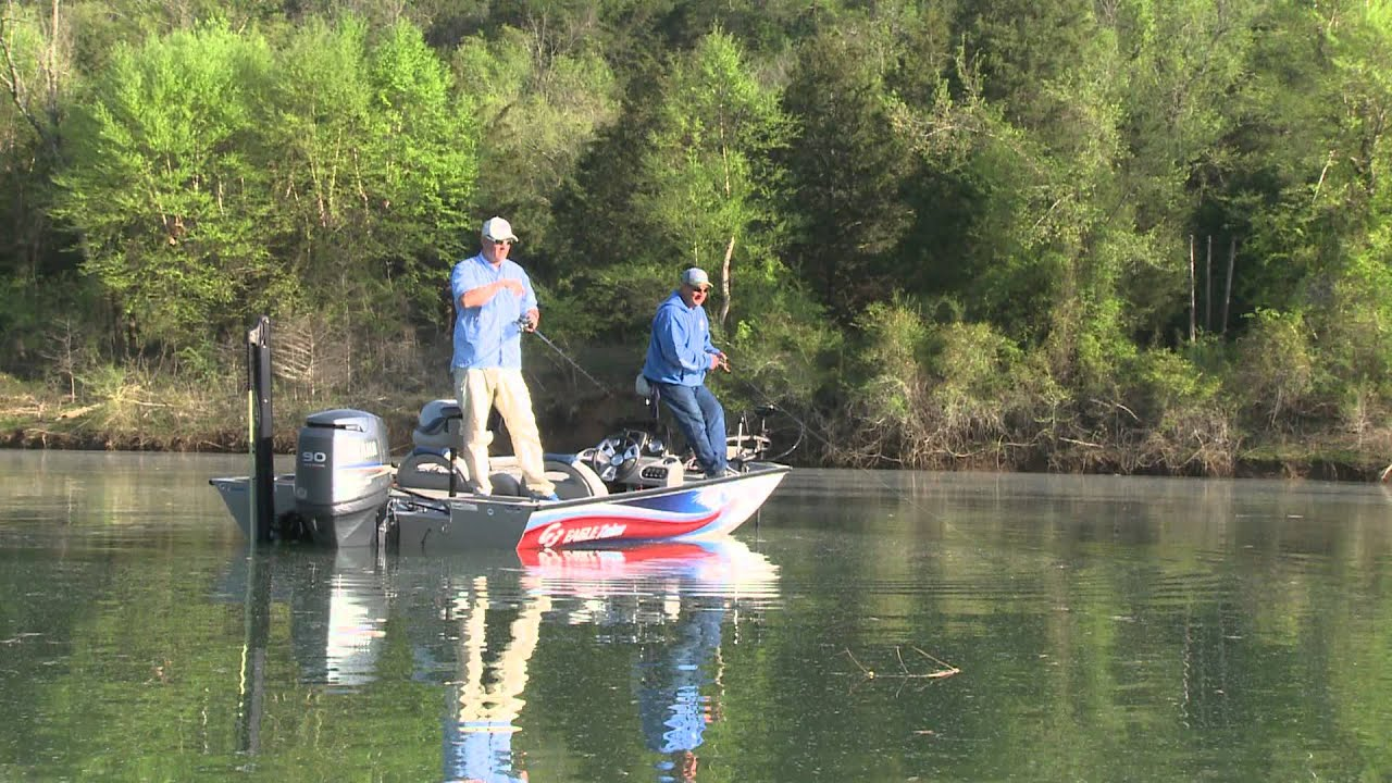 G3 sportsman tv white bass fishing on the white river for White river fishing