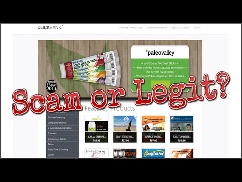 Is Clickbank a Scam? Clickbank Marketplace Exposed!