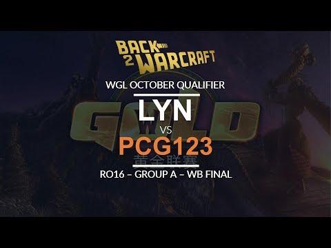 WGL:W 2018 - Oct Ro16 - WB Final (Grp A): [O] Lyn vs. pcg_123 [U]