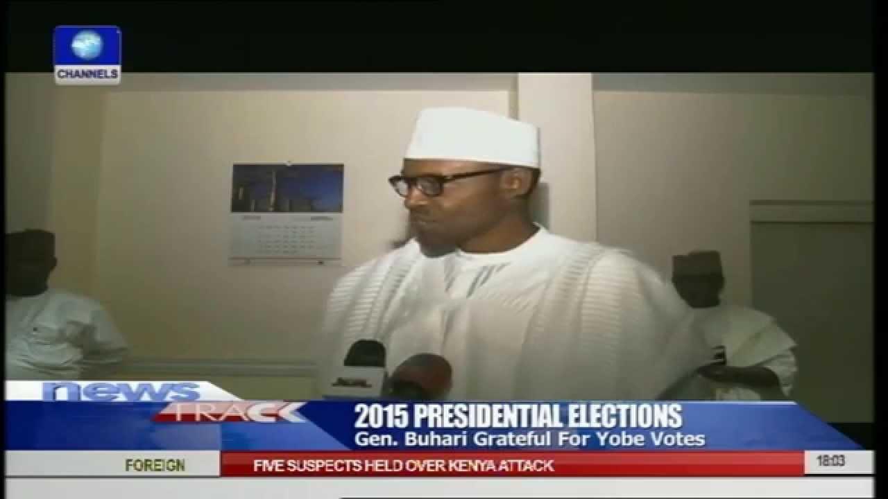 Download General Muhammadu Buhari Grateful For Yobe Votes
