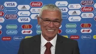 Hector CUPER – Egypt - Final Draw Reaction