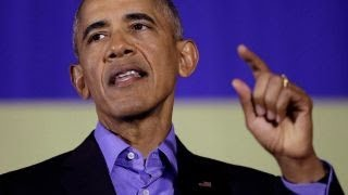 Obama returns to campaign trail in New Jersey and Virginia