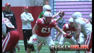 HOL HD: Nebraska Football Thursday Spring Practice Report