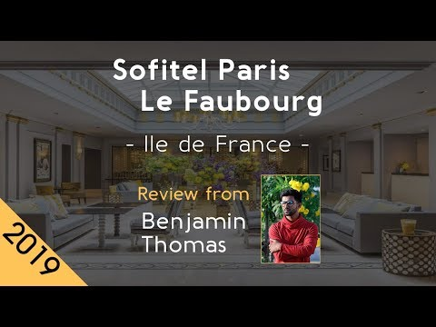 Sofitel Paris Le Faubourg 5⋆ Review 2019 from YouTube · Duration:  1 minutes 41 seconds