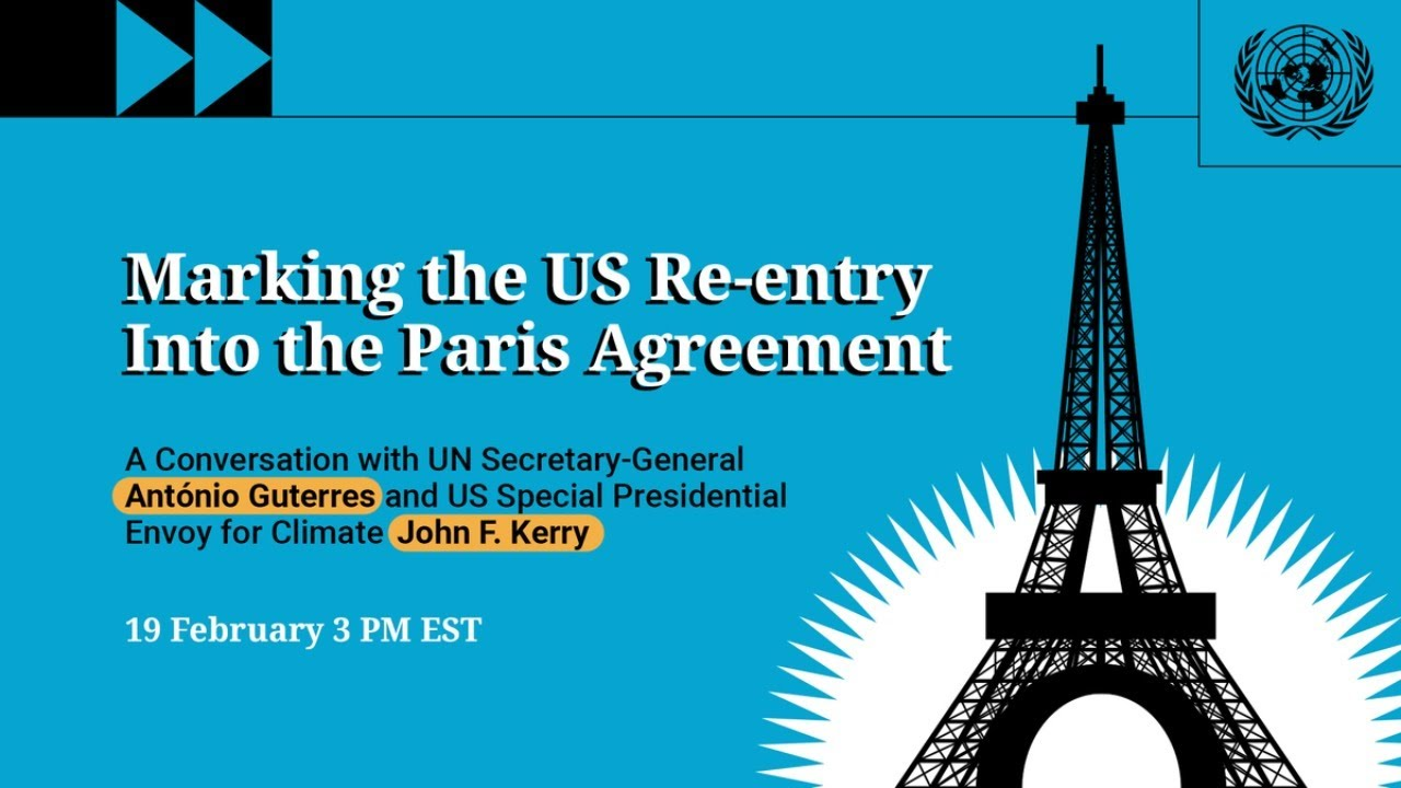 Celebrating America's Re-entry into the Paris Agreement – 2021 Global Engagement Summit