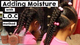 Adding Moisture to Old Hair | L.O.C Method ▸ Shea Moisture Coconut & Hibiscus Line