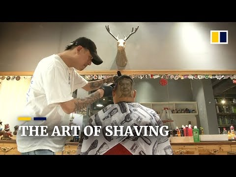 From Chairman Mao To David Beckham, Chinese Barber Turns Heads With Shaving  Art